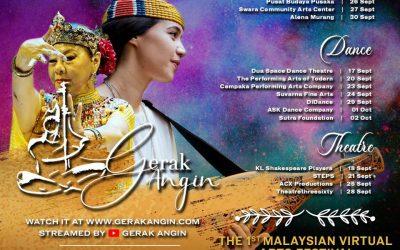 GERAK ANGIN: REAWAKENING THE SPIRIT OF MALAYSIA