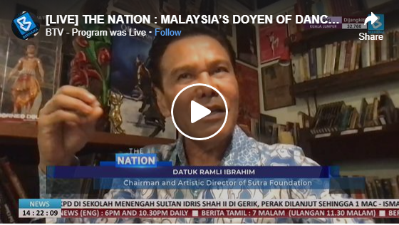 Malaysia's Doyen of Dance – Datuk Ramli Ibrahim live on Bernama TV