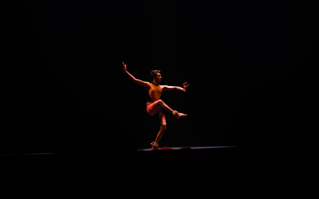 Harenthiran Pulingam, Principal Dancer of Sutra Foundation performs for 'Oh, Odissi! One-World' Episode 4
